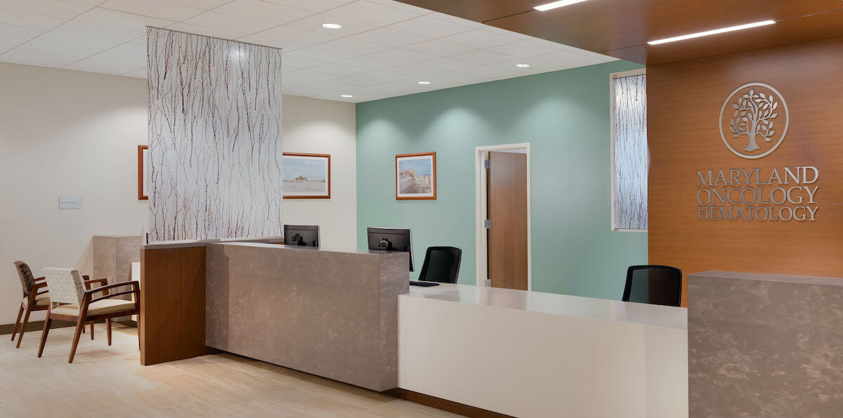 US Oncology Commercial Interiors Design Frederick MD Bates